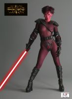 Female Sith Warrior by TheSnowman10