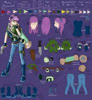 Maiku Hishuromi - Complete Ref by Scourge-Is-Awesome