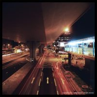 Night Traffic by TheForestMan