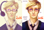 2 years: before and after by Julia-Kisteneva
