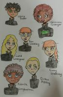 HP: Main Cast by tashylou