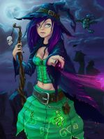 Witch by NoName-Face