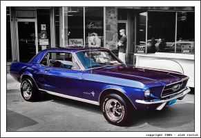 Mustang by Rozich