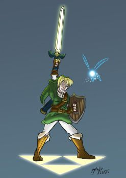 Link Fanart by MikeOrion