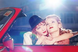 Bonnie and Clyde by antoanette