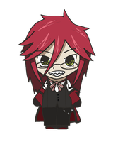 Black Butler - Chibi Grell by CandyAddict774