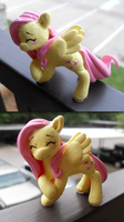 FlutterShy Sculpture by The-kat