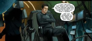 Star Trek Ongoing Comic Mirrored - Kirk - Narada by Jhadin