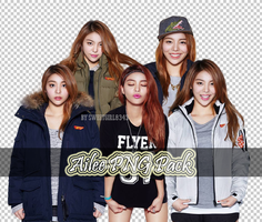 Ailee PNG Pack by Sweetgirl8343