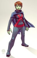 Young Justice Miss Martian - EoSS Commish by EryckWebbGraphics