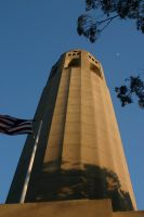 Coit in evening by nwalter
