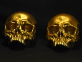 hand sculpted skulls by 2006chaos