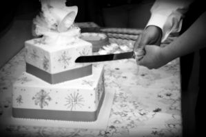 Cutting The Cake by paintedfingers