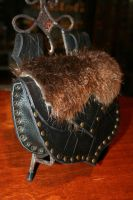 Barbarian Belt Pouch by Damiane