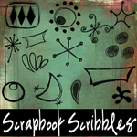 Scrapbook Scribbles- Retro by mandy71480