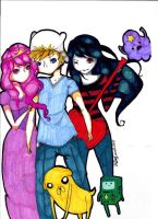 ADVENTURE TIME! by TravelersDaughter