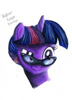 Profesor Twilight Sparkle by koniareczka10