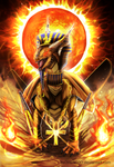 Challenging the Pharaoh + SPEEDPAINT by ItsOver900O