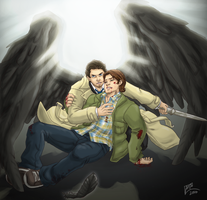 SPN: My human, MINE by Ace-Zaslavsky