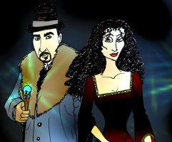 Horvath and Gothel by Selinelle