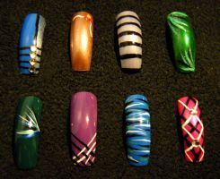 Nail Set 3 by Kelly-Amber