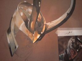 Loki WIP Part 2 by MonochromeVisions