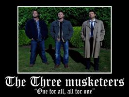 The three musketeers by froskeIlone