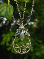 Teardrop of gems by AniqueDesigns
