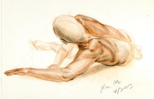 Study of the human figure - Foreshortening by hakepe