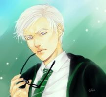 Draco and glasses by LinART
