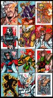 X-Men Archives X-Force by skulljammer