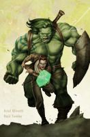 INCREDIBLE HULK 601 fan art by raultumba