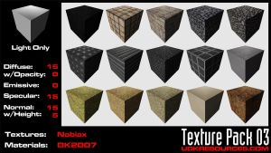 UDK Texture Pack 03 by DK2007