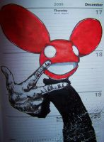 deadmau5 red by markcrossey