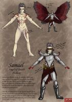 Samael - angel of death by kovah
