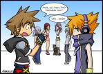 KH2+TWEWY - Nobodies Buisness by LightningGuy