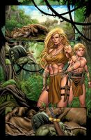 Skaar:King of the Savage Land3 by GURU-eFX