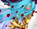 Saint Seiya Lost Canvas_Albafica 3rd version by MimiSempai