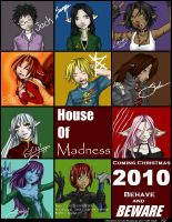 House of Madness Poster-Revamp by Mookyvet