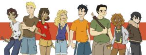 Heroes of Olympus by Grouillote-oh