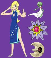 Pokemon Gym Leader - Rosalina by EbonNekoXIII