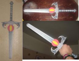 Sword of omens by paperart