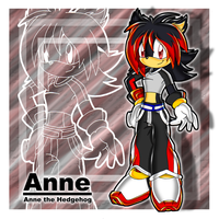 :Anne the Hedgehog: by Chibi-Nuffie