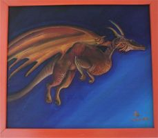 Acrylic Dragon by Danimi