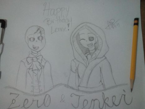 Happy Birthday Lenne!! by UndertaleFio