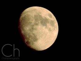 Moon by Champineography