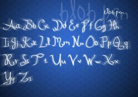 Blob Pen font by bluekid
