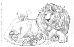Lion Trade Cover by JenBroomall