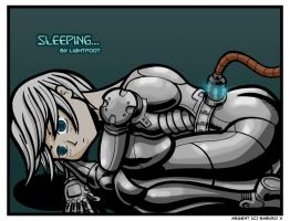 Let Sleeping Gynoids Lie... by lightfootcomics