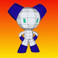 Robotboy papercraft by LordBruco